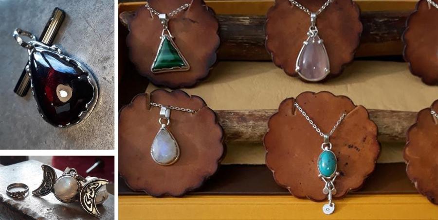 8212134775b1 Joyería artesanal en plata 900 y piedras semi preciosas